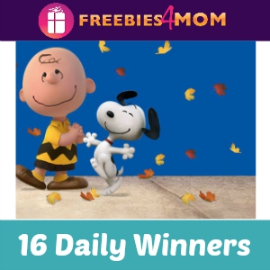 Sweeps Nestle Crunch & The Peanuts Movie
