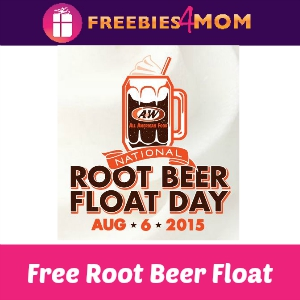 Free Root Beer Float at A&W Aug. 6