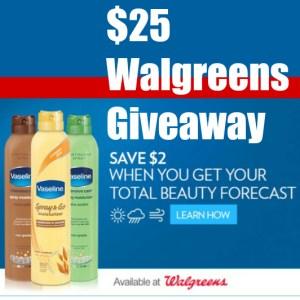 $25 Walgreens Gift Card Winner