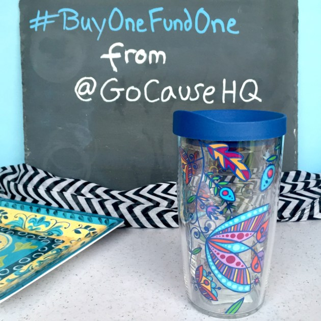 GoCause Tervis Deal Bohemian Flower