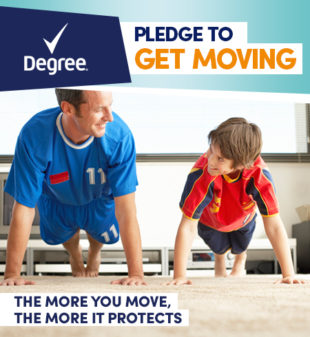 Degree Get Moving Challenge with Chris Powell