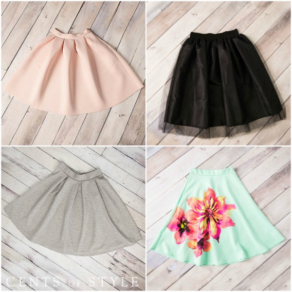 50% Off Skirts + Free Shipping