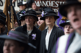 Celebrate Women's Equality Day & Suffragette in Theaters This October