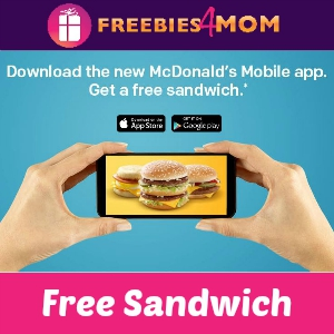 Free Sandwich at McDonald's