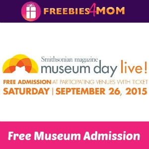 Free Museum Admission Sept. 26
