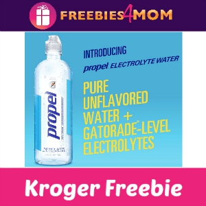Free Propel Purified Water at Kroger