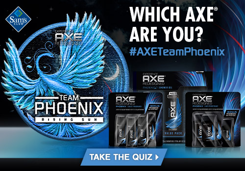 Which AXE are you? #AXETeamPhoenix