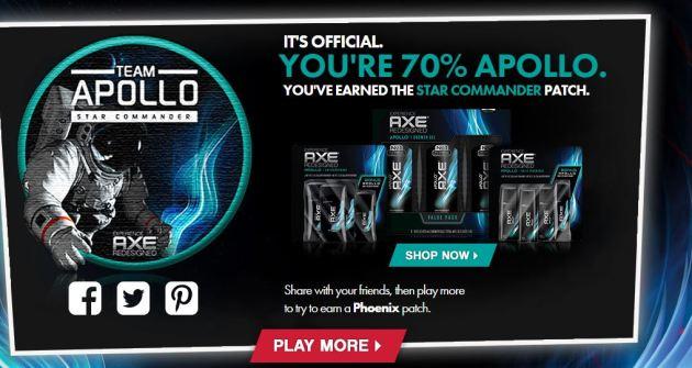 Team Apollo ~ Which AXE Team are you?