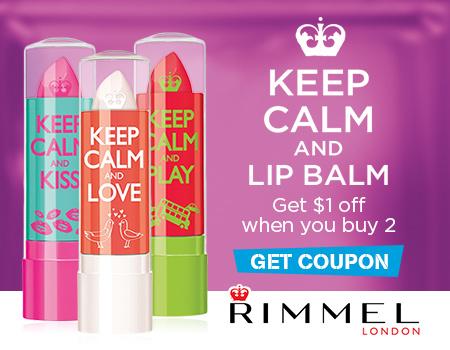 Keep Calm and Lip Balm $1.00 Printable Coupon