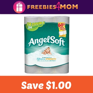 Coupon: $1 off one Angel Soft 12 Mega Roll