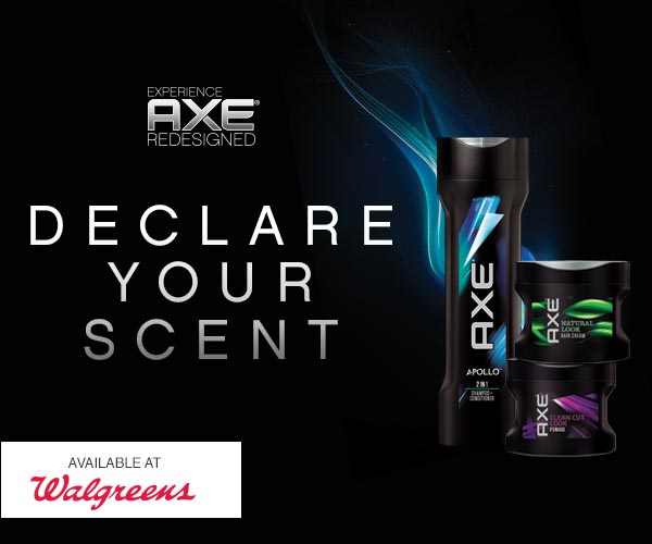 Experience AXE Redesigned at Walgreens and Declare Your Scent
