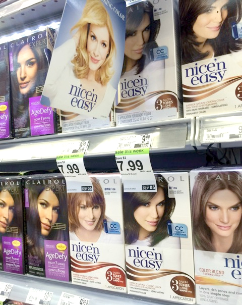 Clairol at Duane Reade 480x604