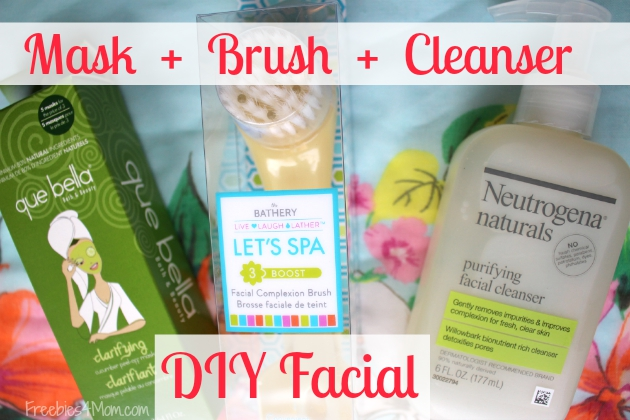 DIY Facial with The Bathery Facial Complexion Brush