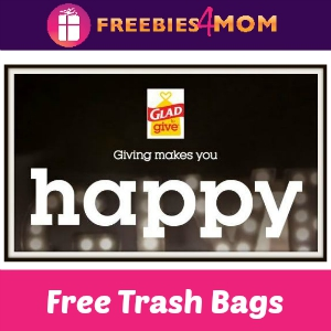 Free Sample Glad Yellow Trash Bags