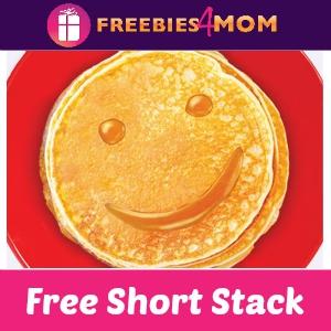 Free Short Stack at Perkins Sept. 24