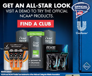 In-Store Sam's Club Demo of Unilever Men's personal care products