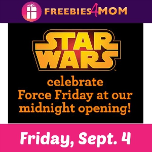 Star Wars Force Friday at Toys R Us