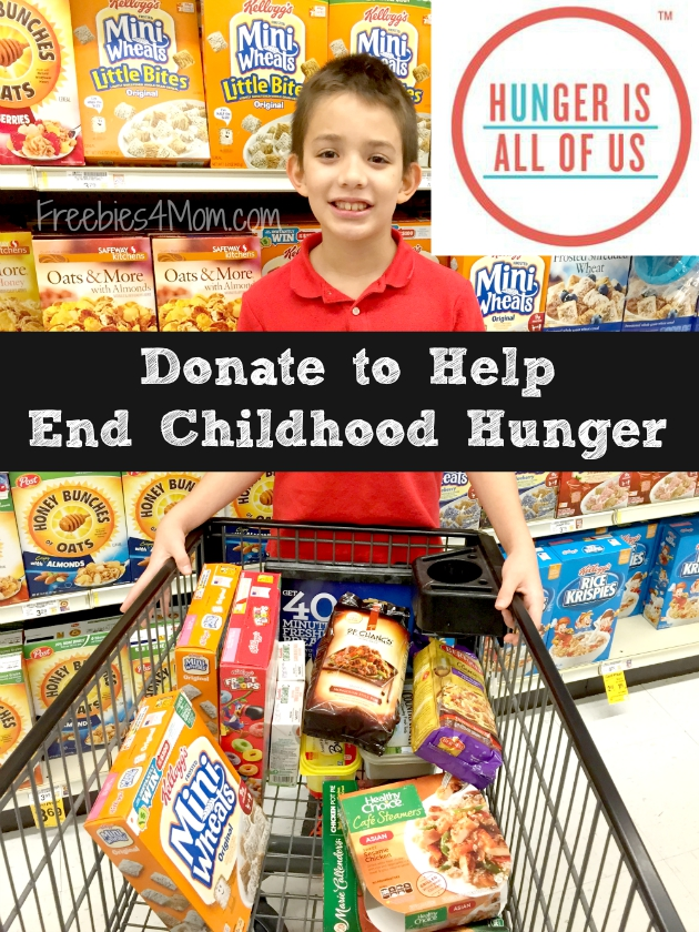 Donate to Hugner Is to Help End Childhood Hunger in America