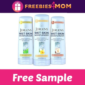 Free Sample Jergens Wet Skin Moisturizer