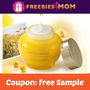 Free Divine Cream Sample at L'OCCITANE