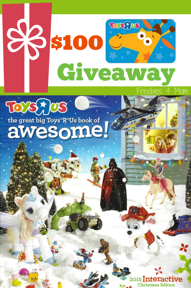 """$100 Toys""""R""""Us Giveaway ~ The Great Big Toys""""R""""Us Book of Awesome"""