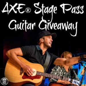 AXE® Stage Pass Guitar Winner