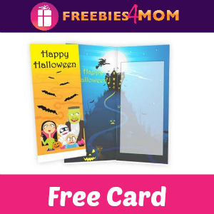 Free Halloween Card *First 1,000*