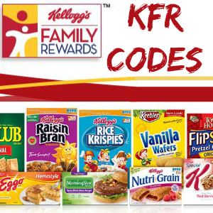 Kellogg's Family Rewards Codes