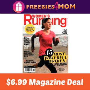 Magazine Deal: Women's Running $6.99
