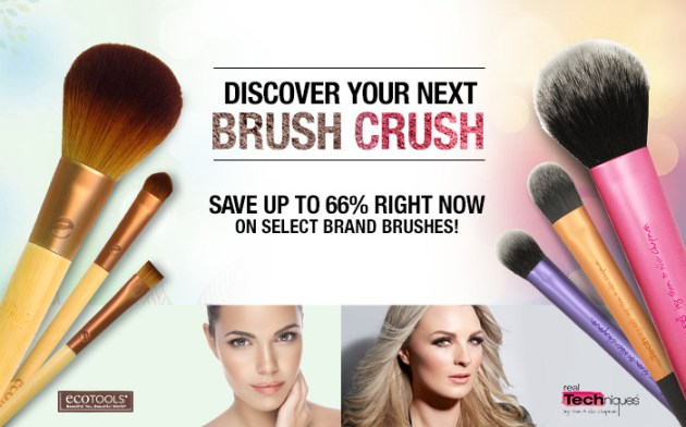 EcoTools® and Real Techniques Makeup Brush Coupons ~ Save up to 66%