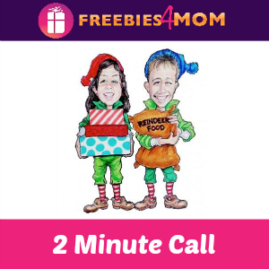 Free 2 Minute Live Santa Call