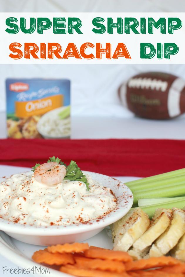 Super Shrimp Sriracha Dip plus Lipton® Recipe Secrets Coupon