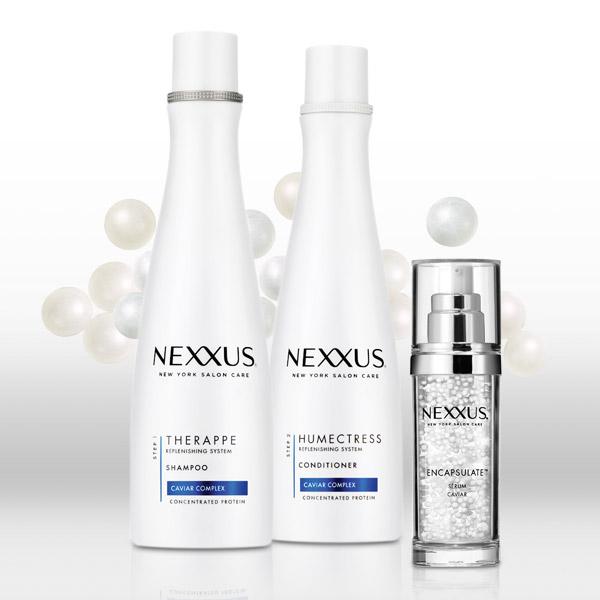 Nexxus Therappe Shampoo and Nexxus Humectress Conditioner