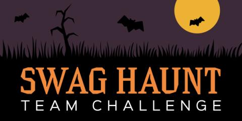 Earn SB with Swag Haunt Team Challenge