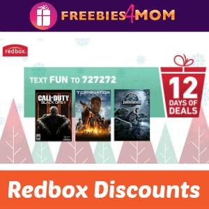 Redbox 12 Days of Deals (ends 12/8)