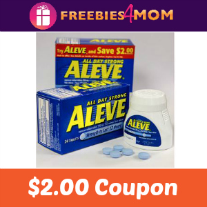 Coupon: $2.00 off Aleve and Aleve-D