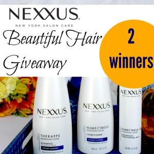 Nexxus Beautiful Hair Giveaway Winners