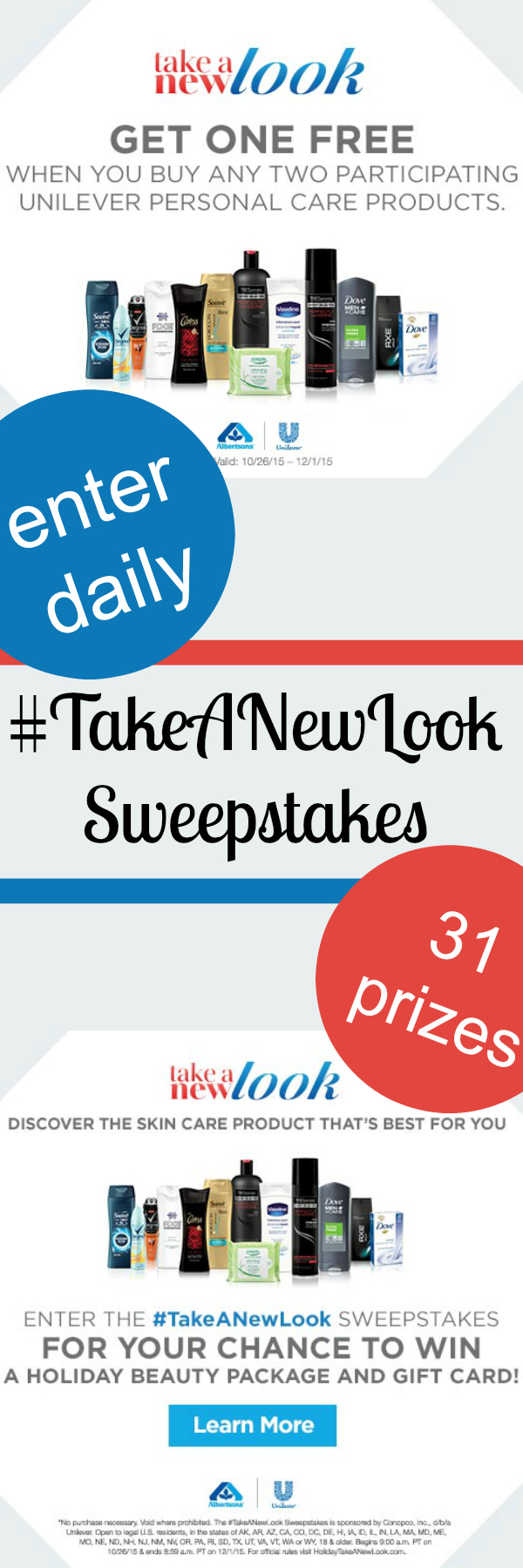 Take a New Look Sweepstakes