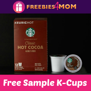 Free Sample Starbucks Hot Cocoa K-Cups
