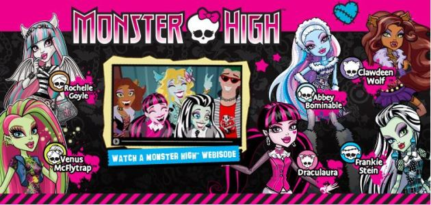 Monster High Banner