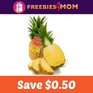 $0.50 off Del Monte Gold Extra Sweet Pineapple