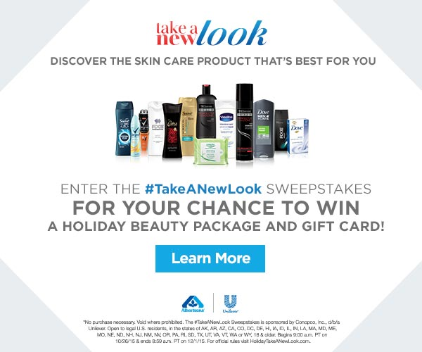 #TakeANewLook Daily Entry Sweepstakes