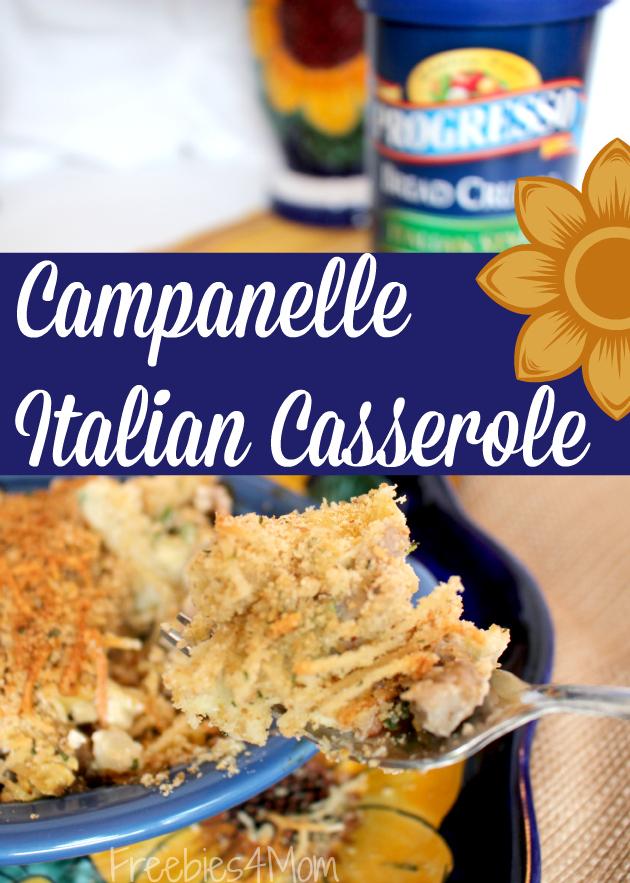 Campanelle Italian Casserole recipe