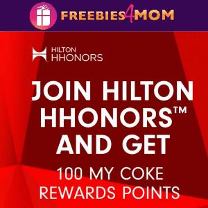 100 Free My Coke Reward Points
