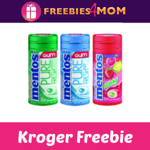 Free Mentos Gum at Kroger