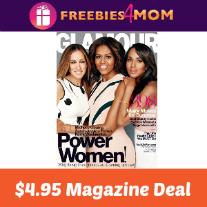 Magazine Deal: Glamour $4.95