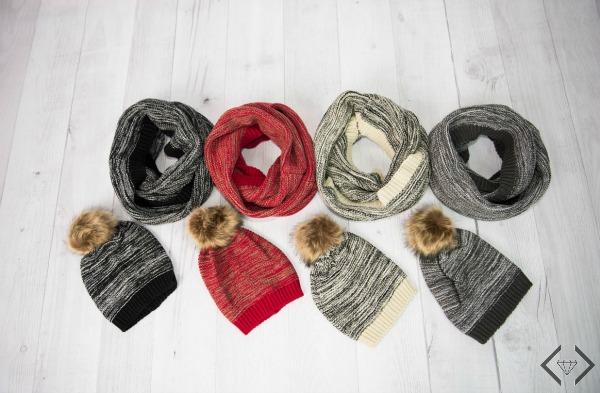 Hat, Scarf & Glove Sets $15.95-$19.95