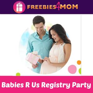 Free Registry Party at Babies R Us Saturday
