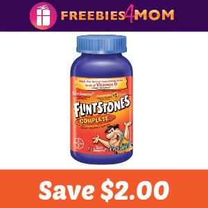 Coupon: $2.00 off one Flintstones Multivitamin