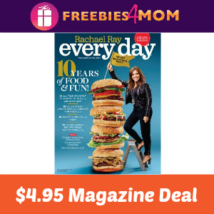 Magazine Deal: Rachael Ray Every Day $4.95